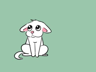 可爱的小动物简笔画要怎么画
