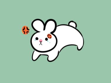 软糯的小白兔简笔画要怎么画