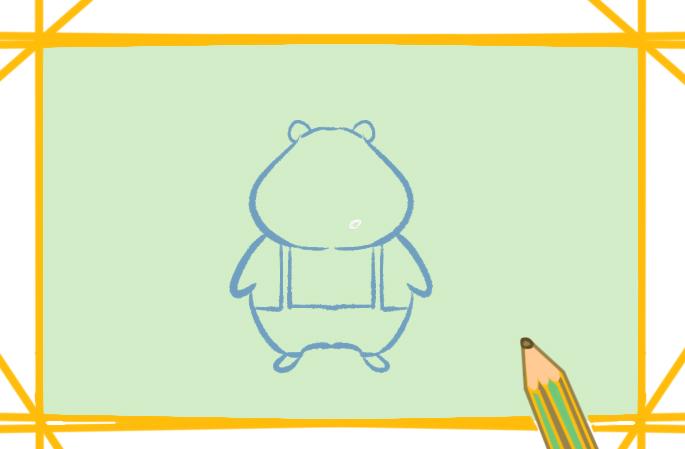 卡通草从简笔画图片-草莓卡通简笔画图片