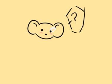 鼠年美女鼠簡筆畫怎么畫
