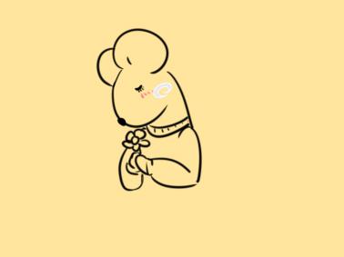 鼠年畫鼠超簡單的簡筆畫步驟圖