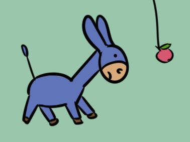 超简单的梨子简笔画步骤图