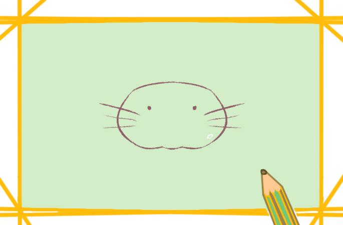 可爱的花猫简笔画要怎么画