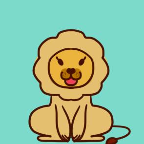 可爱的小狮子简笔画要怎么画