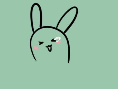 活泼的小兔简笔画要怎么画