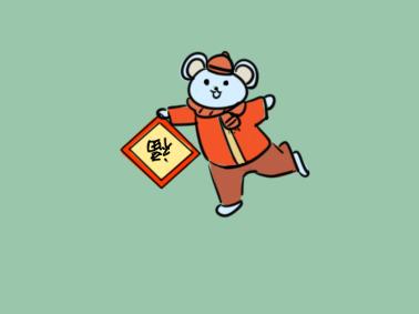 可愛的卡通老鼠簡筆畫要怎么畫