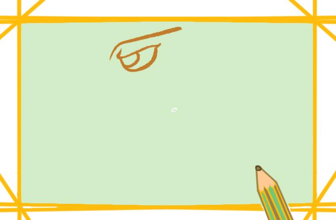 帅气的鹰上色简笔画图片教程