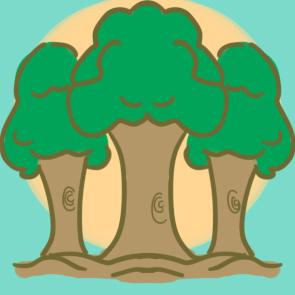 植树节的大树简笔画要怎么画