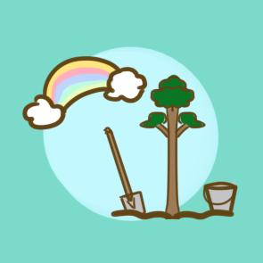 漂亮的植树节简笔画要怎么画 植树节儿童画要怎么画