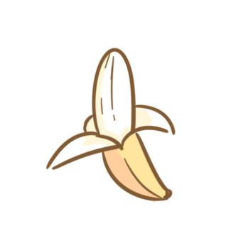 卡通的香蕉簡筆畫要怎么畫