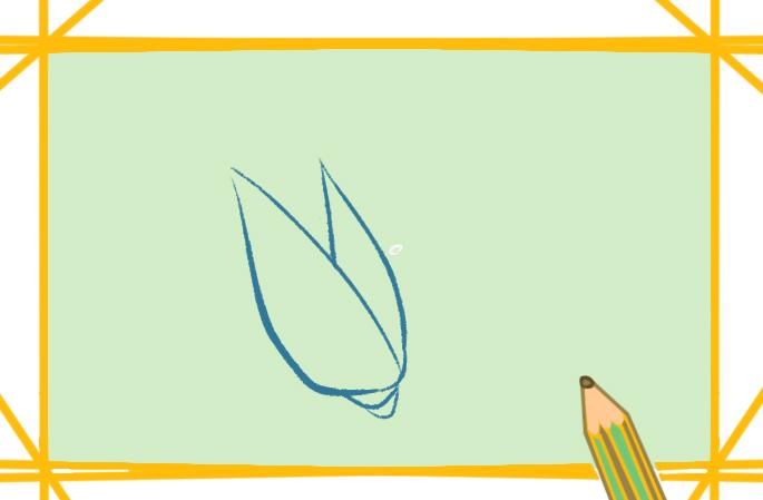 谷物之玉米简笔画要怎么画