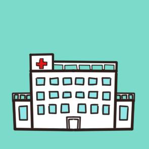 漂亮的醫院簡筆畫原創教程步驟