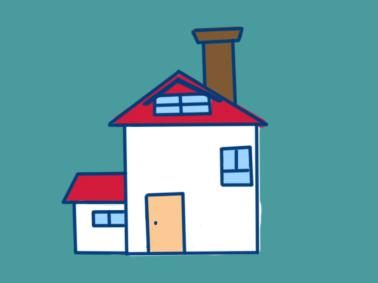简单好看的房子简笔画要怎么画