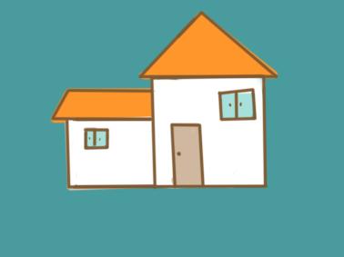 好看的房子简笔画要怎么画