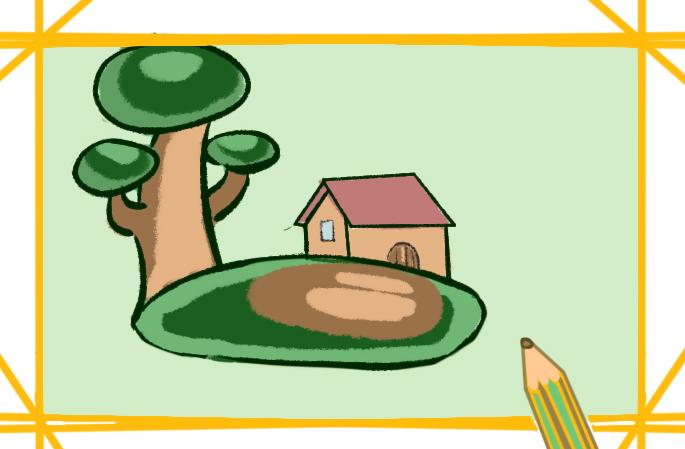 溫馨的小屋簡筆畫要怎么畫小屋簡筆畫