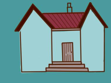 简朴的房子简笔画要怎么画