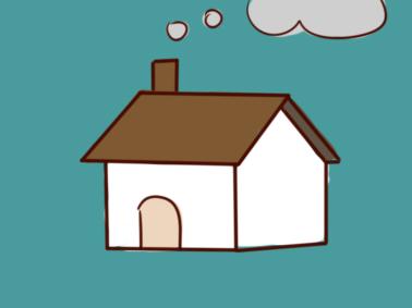 朴素的房子简笔画要怎么画