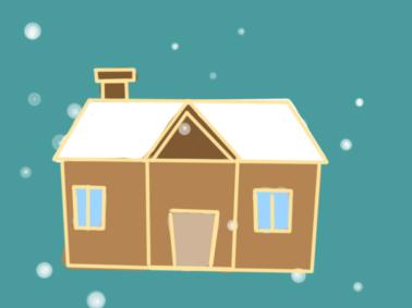 漂亮的房子简笔画要怎么画