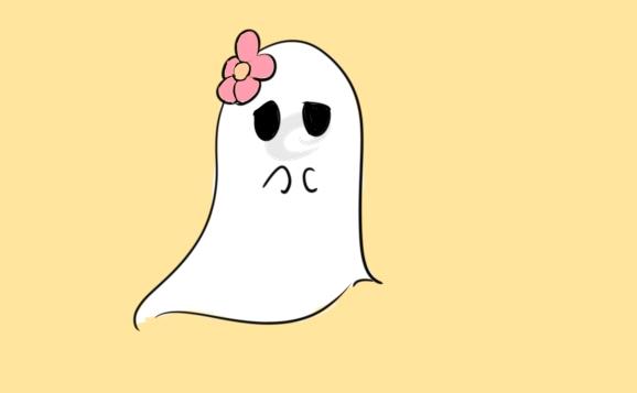 可爱的鬼魂简笔画怎么画