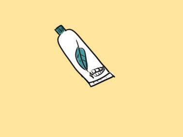 清新牙膏簡筆畫怎么畫