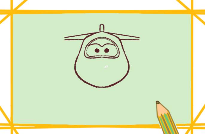 卡通超级飞侠简原创笔画要怎么画