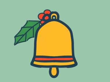 圣誕鈴鐺原創簡筆畫要怎么畫