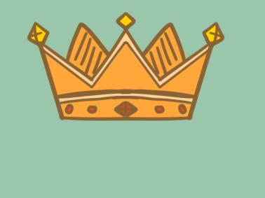 精致的皇冠简笔画要怎么画皇冠简笔画