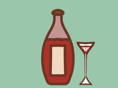 超简单的红酒简笔画要怎么画
