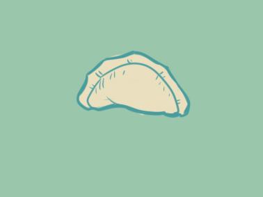 好吃的饺子简笔画要怎么画