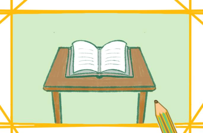 阅读书本小学生简笔画要怎么画