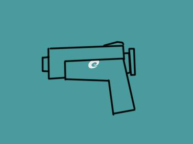 玩具手枪简笔画要怎么画