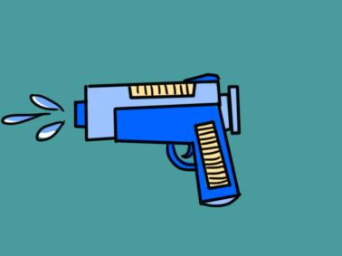 玩具水枪简笔画要怎么画
