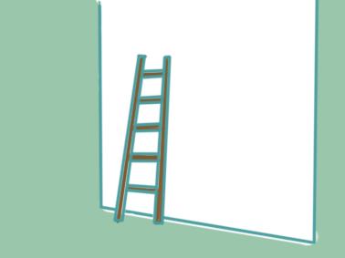 生活工具之梯子简笔画要怎么画