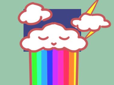 漂亮的彩虹简笔画要怎么画 小学生儿童简笔画教程