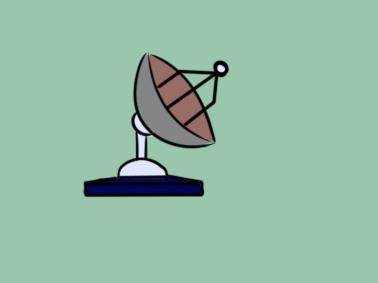卫星接收器简笔画要怎么画