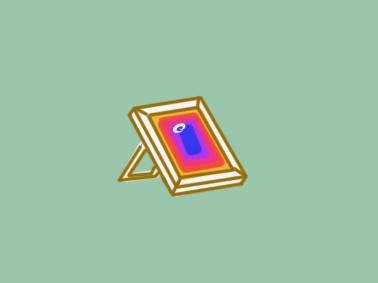 彩色的相框简笔画要怎么画