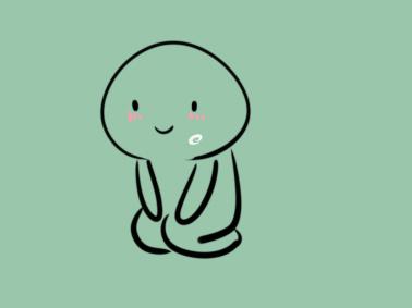 可爱的小人简笔画要怎么画 下跪简笔画要怎么画