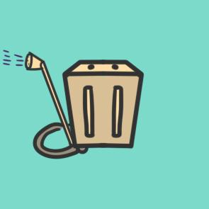 疫情的消毒箱简笔画要怎么画