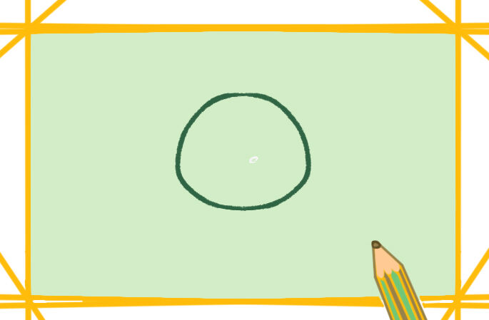 新型冠狀病毒上色簡筆畫要怎么畫