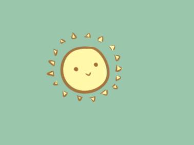 可爱的小太阳简笔画要怎么画