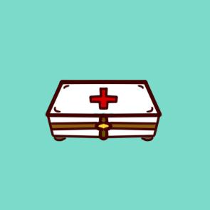 家用医药箱简笔画要怎么画