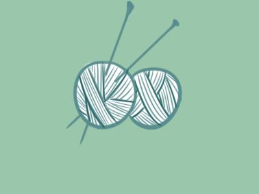 织毛衣的羊毛线简笔画要怎么画