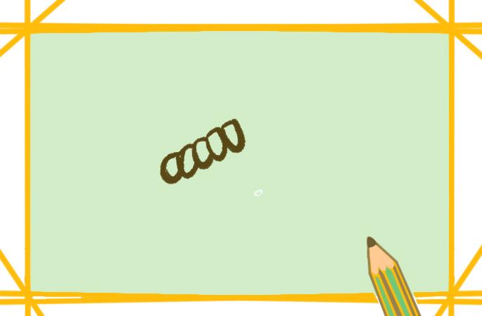 舒适的运动鞋简笔画原创教程步骤 5068儿童网