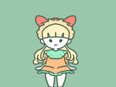 漂亮的玩具洋娃娃简笔画要怎么画