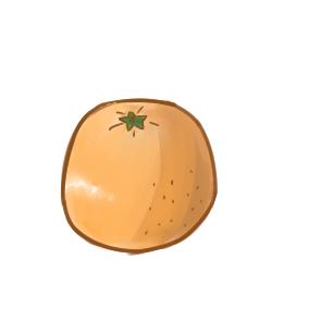 香甜的橙子簡筆畫怎么畫