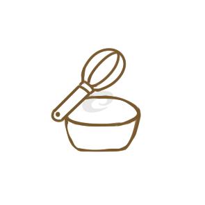 可爱的打蛋器简笔画怎么画
