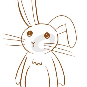 又简单又好看的兔子简笔画原创教程步骤 5068儿童网