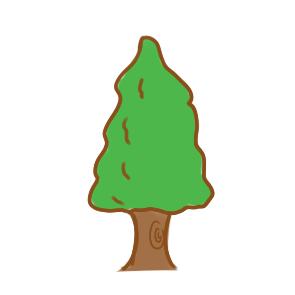 漂亮的大树简笔画原创教程步骤