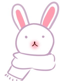 雪白的兔子簡筆畫教程