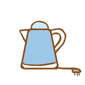 又简单又好看的电热水壶简笔画怎么画